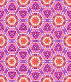Ζωηρόχρωμο kaleidoscopic σχέδιο χρωστικών ουσιών δεσμών Στοκ φωτογραφία με δικαίωμα ελεύθερης χρήσης