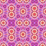 Ζωηρόχρωμο kaleidoscopic σχέδιο χρωστικών ουσιών δεσμών Στοκ Εικόνες