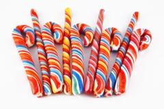 ζωηρόχρωμο lollipop εννέα Στοκ φωτογραφίες με δικαίωμα ελεύθερης χρήσης