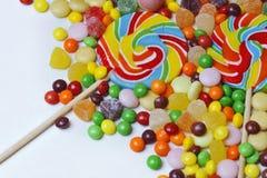 Ζωηρόχρωμο lollipop Στοκ Φωτογραφία