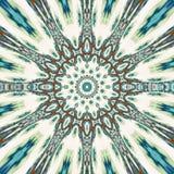 Ζωηρόχρωμο mandala κιρκιριών αστεριών arabesque, απεικόνιση της κεντητικής για το dreamcatcher Στοκ Φωτογραφία