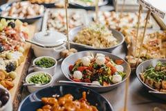 Ζωηρόχρωμο Mayo βόειου κρέατος κύπελλο σαλάτας Στοκ Εικόνες