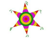 Ζωηρόχρωμο piñata στοκ εικόνες