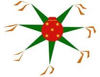Ζωηρόχρωμο piñata στοκ εικόνα με δικαίωμα ελεύθερης χρήσης