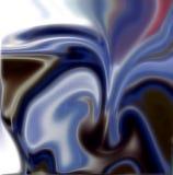 Ζωηρό μπλε θολωμένο υπόβαθρο Στοκ Φωτογραφίες