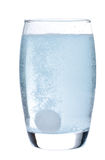 ζωηρό ύδωρ ταμπλετών γυαλ&iota Στοκ Φωτογραφίες