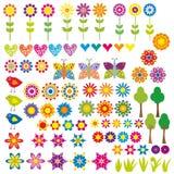 ζωική καρδιά λουλουδιώ&n Στοκ Φωτογραφίες