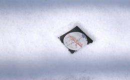 ζωικός στόχος χιονιού εικόνων κυνηγών χρησιμοποιούμενος Στοκ Φωτογραφίες