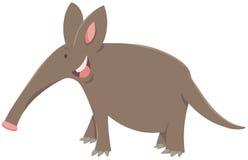 Ζωικός χαρακτήρας κινούμενων σχεδίων aardvark απεικόνιση αποθεμάτων