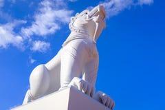 Ζωικό άγαλμα σε έναν βουδιστικό ναό Στοκ φωτογραφία με δικαίωμα ελεύθερης χρήσης