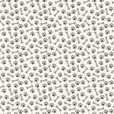 Ζωικό άνευ ραφής σχέδιο του ίχνους και του κόκκαλου ποδιών Στοκ εικόνες με δικαίωμα ελεύθερης χρήσης