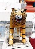 Ζωικό γλυπτό τιγρών μύθων φαντασίας Στοκ Εικόνα