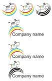 Ζωικό λογότυπο Στοκ εικόνα με δικαίωμα ελεύθερης χρήσης
