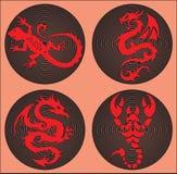 ζωικό tatoo Στοκ φωτογραφίες με δικαίωμα ελεύθερης χρήσης
