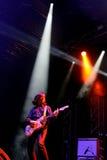 Ζωντανή απόδοση ζωνών Moore Thurston στο φεστιβάλ Bime Στοκ Φωτογραφία