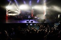 Ζωντανή απόδοση της Anna Calvi (ζώνη) στο φεστιβάλ Bime Στοκ εικόνες με δικαίωμα ελεύθερης χρήσης