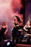 Ζωντανή συναυλία Antonia Στοκ φωτογραφίες με δικαίωμα ελεύθερης χρήσης