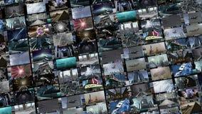 Ζωντανεψοντας τηλεοπτικός τοίχος, να επεκταθεί 4K ελεύθερη απεικόνιση δικαιώματος