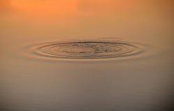 Ζωντανεψοντα κύματα στο νερό Στοκ φωτογραφία με δικαίωμα ελεύθερης χρήσης
