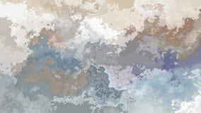 Ζωντανεψοντα λεκιασμένο βίντεο βρόχων υποβάθρου άνευ ραφής - επίδραση watercolor splotch - χλωμό μπεζ, taupe, πλάκα, γκρίζο, γκρί απεικόνιση αποθεμάτων
