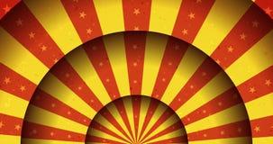 Ζωντανεψοντα τρύγος τσίρκο εύθυμος-πηγαίνω-γύρω από το υπόβαθρο απεικόνιση αποθεμάτων