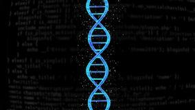 Ζωντανεψοντη αλυσίδα DNA απεικόνιση αποθεμάτων