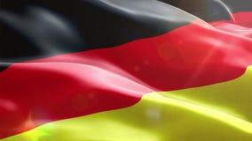 Ζωντανεψοντη τρισδιάστατη σημαία της Γερμανίας ελεύθερη απεικόνιση δικαιώματος