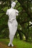 Ζωντανό άγαλμα Marbe μιας γυναίκας υπαίθρια Στοκ φωτογραφίες με δικαίωμα ελεύθερης χρήσης