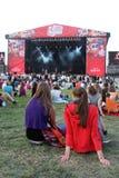 Ζωντανό φεστιβάλ 2008 κοκ Στοκ Φωτογραφίες