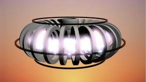 Ζωτικότητα αντιδραστήρων τήξης απόθεμα βίντεο