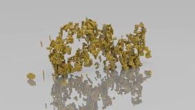Ζωτικότητα από παλαιό σε νέο με την έκρηξη μορίων απεικόνιση αποθεμάτων