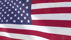 Ζωτικότητα Ηνωμένων ρεαλιστική σημαιών ελεύθερη απεικόνιση δικαιώματος