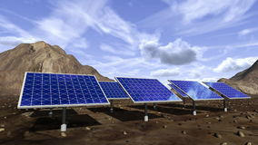 Ζωτικότητα των ηλιακών πλαισίων ελεύθερη απεικόνιση δικαιώματος