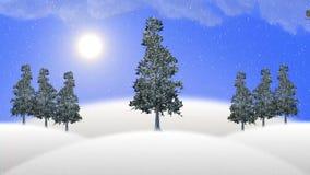 Ζωτικότητα Χριστουγέννων - Santa με τους ταράνδους ελκήθρων και τρεξίματος φιλμ μικρού μήκους