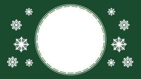 Ζωτικότητα snowflakes για την ημέρα καλής χρονιάς ελεύθερη απεικόνιση δικαιώματος