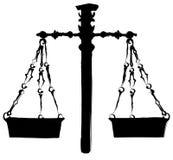 ζύγισμα κλιμάκων Ελεύθερη απεικόνιση δικαιώματος