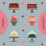 Ζύμες διακοπών πακέτων κέικ, κατάστημα ζύμης Στοκ εικόνες με δικαίωμα ελεύθερης χρήσης