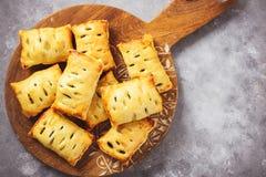 Ζύμες ριπών σπανακιού με το τυρί φέτας στοκ εικόνες με δικαίωμα ελεύθερης χρήσης