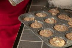 Ζύμες Χριστουγέννων, μπισκότα στη μορφή στοκ φωτογραφίες
