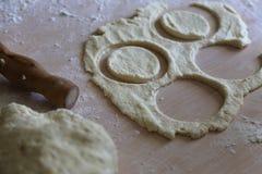 Ζύμη για τα μπισκότα ψησίματος στοκ φωτογραφία με δικαίωμα ελεύθερης χρήσης