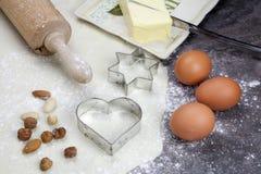 ζύμη μπισκότων Στοκ φωτογραφία με δικαίωμα ελεύθερης χρήσης