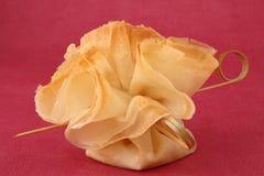 ζύμη τροφίμων filo καναπεδακιώ& στοκ φωτογραφίες