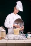 ζύμη ψωμιού φρέσκια Στοκ Φωτογραφία
