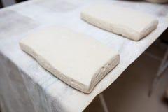 Ζύμη ψωμιού Ciabatta Στοκ εικόνα με δικαίωμα ελεύθερης χρήσης