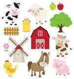 Ζώα αγροκτημάτων Στοκ Φωτογραφίες