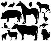 Ζώα αγροκτημάτων απεικόνιση αποθεμάτων