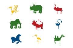 ζώα αστεία Στοκ εικόνες με δικαίωμα ελεύθερης χρήσης