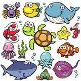 Ζώα θάλασσας διανυσματική απεικόνιση