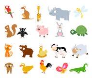 Ζώα καθορισμένα Στοκ Εικόνα