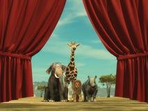 Ζώα μελών άγριας φύσης ελεύθερη απεικόνιση δικαιώματος